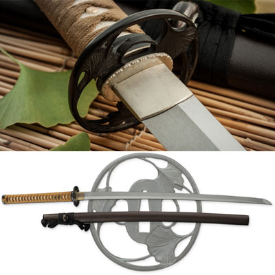 Autumn Leaf Sakura Katana Swords